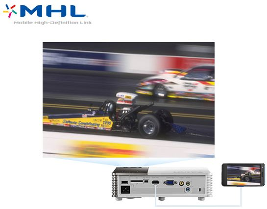 Mobile High Definition link BenQ GP30