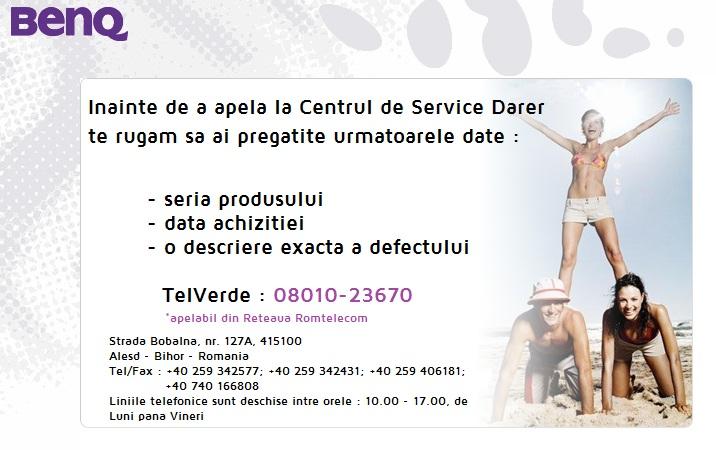 BenQ Austria, BenQ Europe, Service BenQ, Reparatii BenQ, Proiector defect BenQ, Lampa videoproiector