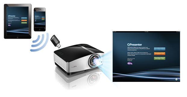 Descriere Wireless Adapter, BenQ for MX661 GP10 GP3 MS619ST MX620...