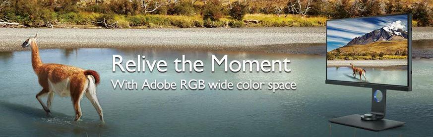 Retraiti momentul cu spatiul de culoare Adobe RGB